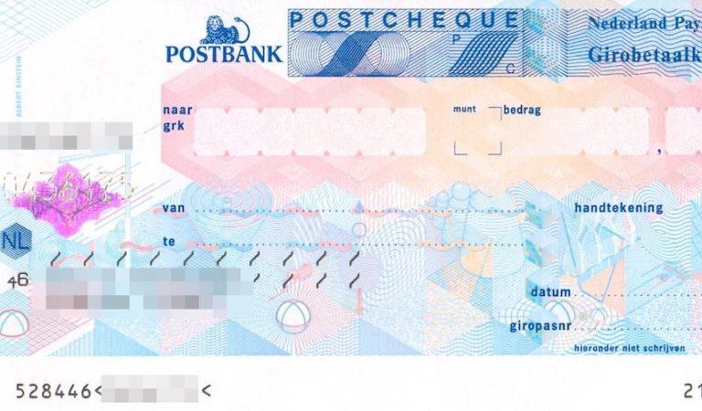 ING stopt als laatste bank met cheques