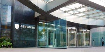 ABN-AMRO Head office entrance