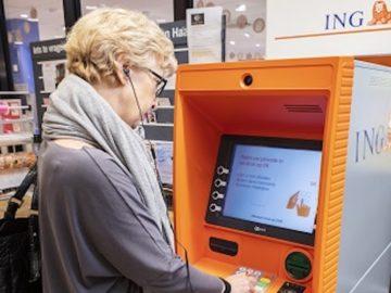 ING geldautomaat