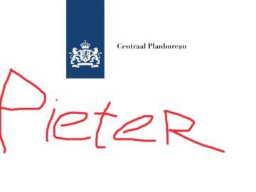 Logo Centraal Planbureau Pieter