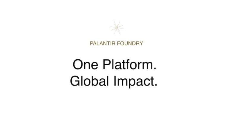 Palantir foundry
