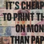 Its cheaper to print this on money than paper